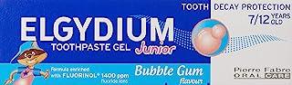 Elgydium Junior Toothpaste, Bubble Gum, 50ml