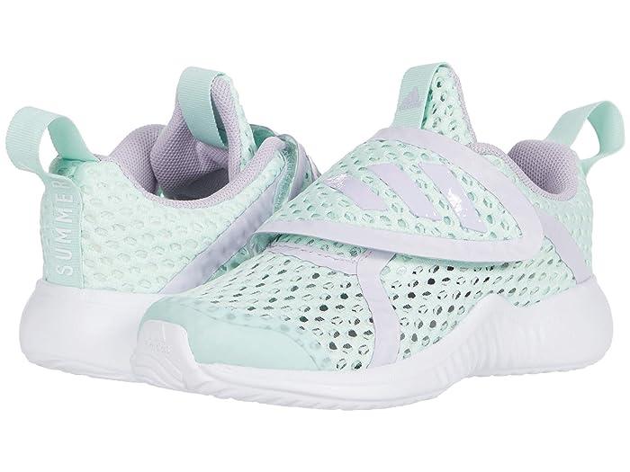 adidas Kids  Fortarun X Summer RDY CF (Toddler) (Dash Green/Purple Tint/White) Kids Shoes