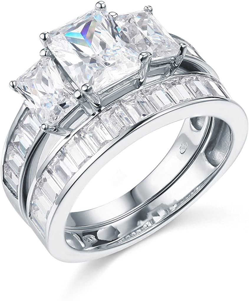 The World Jewelry Ranking TOP17 Center .925 Sterling Silver Eng Plated Free Shipping Cheap Bargain Gift Rhodium