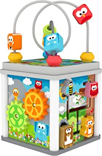 J'adore Wooden Zoo Animal Mini 5-in-1 Activity Cube Center