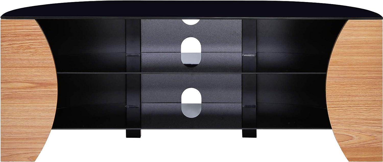 "Centurion Supports TIVOLI 3-Shelf Gloss White Flat Screen TV Cabinet upto 50/"""