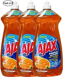Ajax  Triple Action Orange(887ml) (Pack of 3)