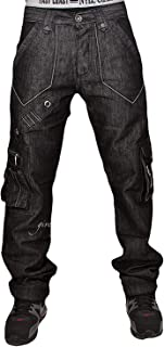 star wax loose hip hop urban time is money boys Peviani jeans blue g combat