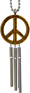 Peace Sign Car Musical Wind Chimes - Made in USA