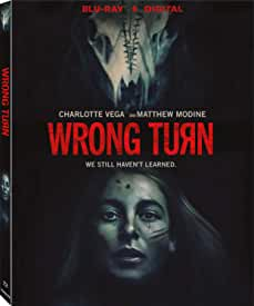 The eerie backwoods journey begins when WRONG TURN debuts on Blu-ray, DVD, Digital Feb. 23 from Lionsgate