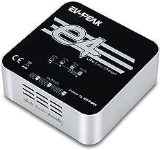 EV-PEAK E4 50Watts 4Amps 2S 3S 4S AC Lipo Battery Balance Charger for 7.4V 11.1V 14.8V Lipo Battery