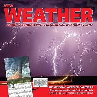 Weather Guide 2020 Wall Calendar