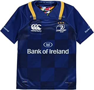 Canterbury Leinster Home Pro Jersey 2017 2018 Junior Boys T Shirt Rugby Blue