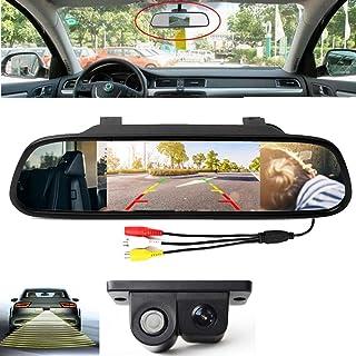 """4.3 """"Monitor de estacionamiento del espejo retroviso"""