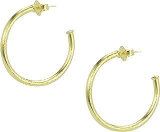 Sheila Fajl Petite Favorite Hoop Earrings in Gold Plated