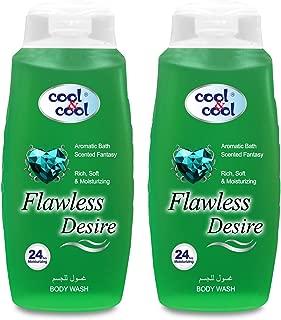 Cool & Cool Flawless Desire Body Wash, 2 x 500ml