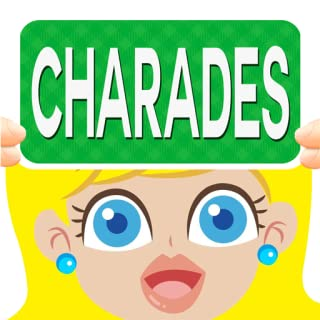 Charades Group Guessing Games - Guess The Word Heads Up or Down Fun Party Game