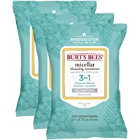 3-Pack Burt's Bees Micellar Cleansing Towelettes , 30 Count