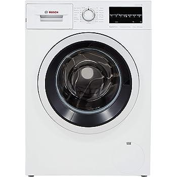 Bosch 8 kg Inverter Fully-Automatic Front Loading Washing Machine (WAT24463IN, White, Inbuilt Heater)