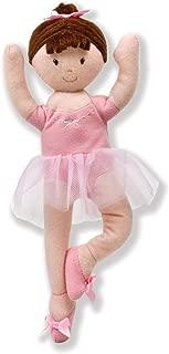 North American Bear Company Girls on The Move Ballerina Brunette Finger Puppet