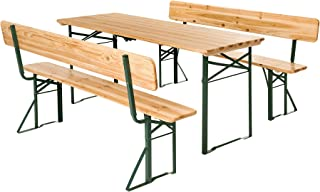Amazon.fr : table et banc en bois : Jardin