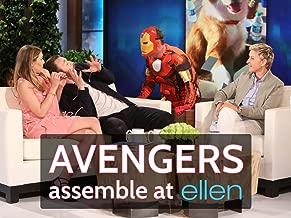 Avengers Assemble at Ellen