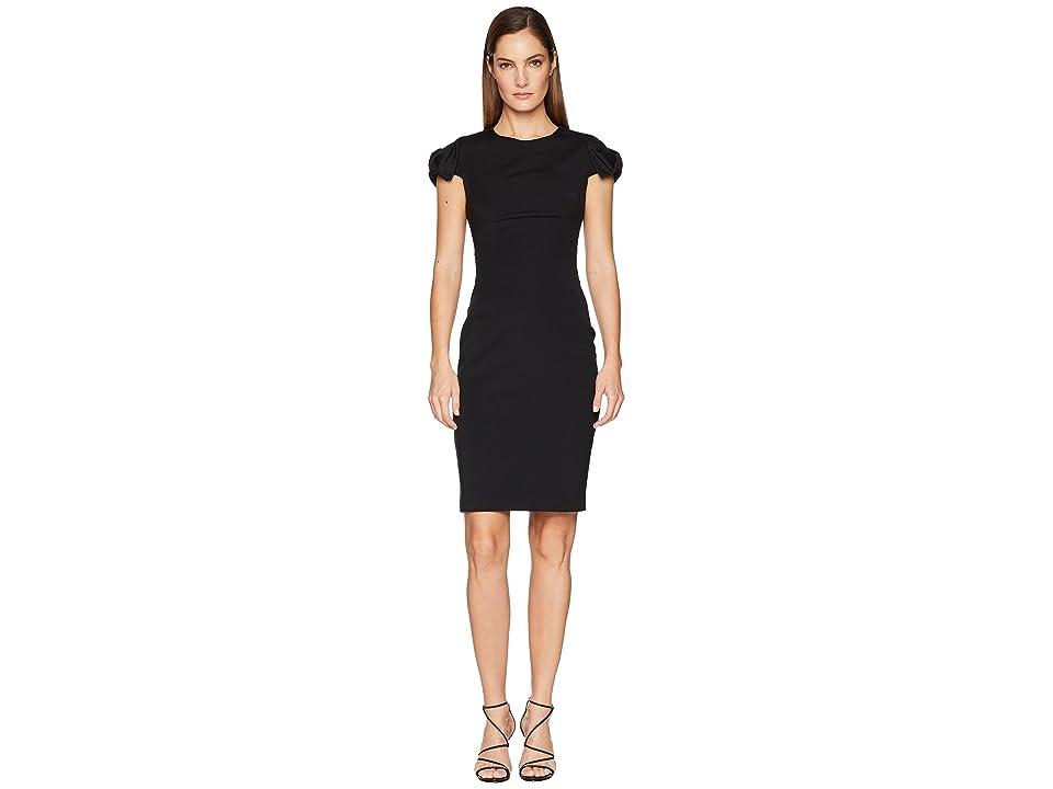 Ted Baker Toplyd Bow Shoulder Pencil Dress (Black) Women