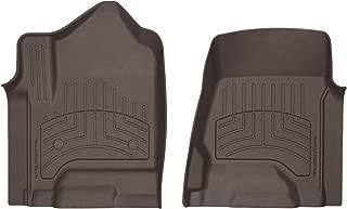 WeatherTech Custom 3D FloorMats - 476071iM - 1st Row (Cocoa)