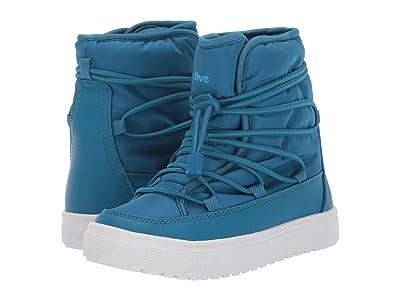 Native Kids Shoes Chamonix (Little Kid) (Depth Blue/Shell White) Kids Shoes