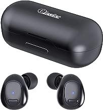 Elecder D9 True Wireless Earbuds Bluetooth 5.0 Sport Headphones 3D Stereo Sound in-Ear Earphones with Microphone, Charging Case, IPX5 Sweatproof for Workout, Running, Update