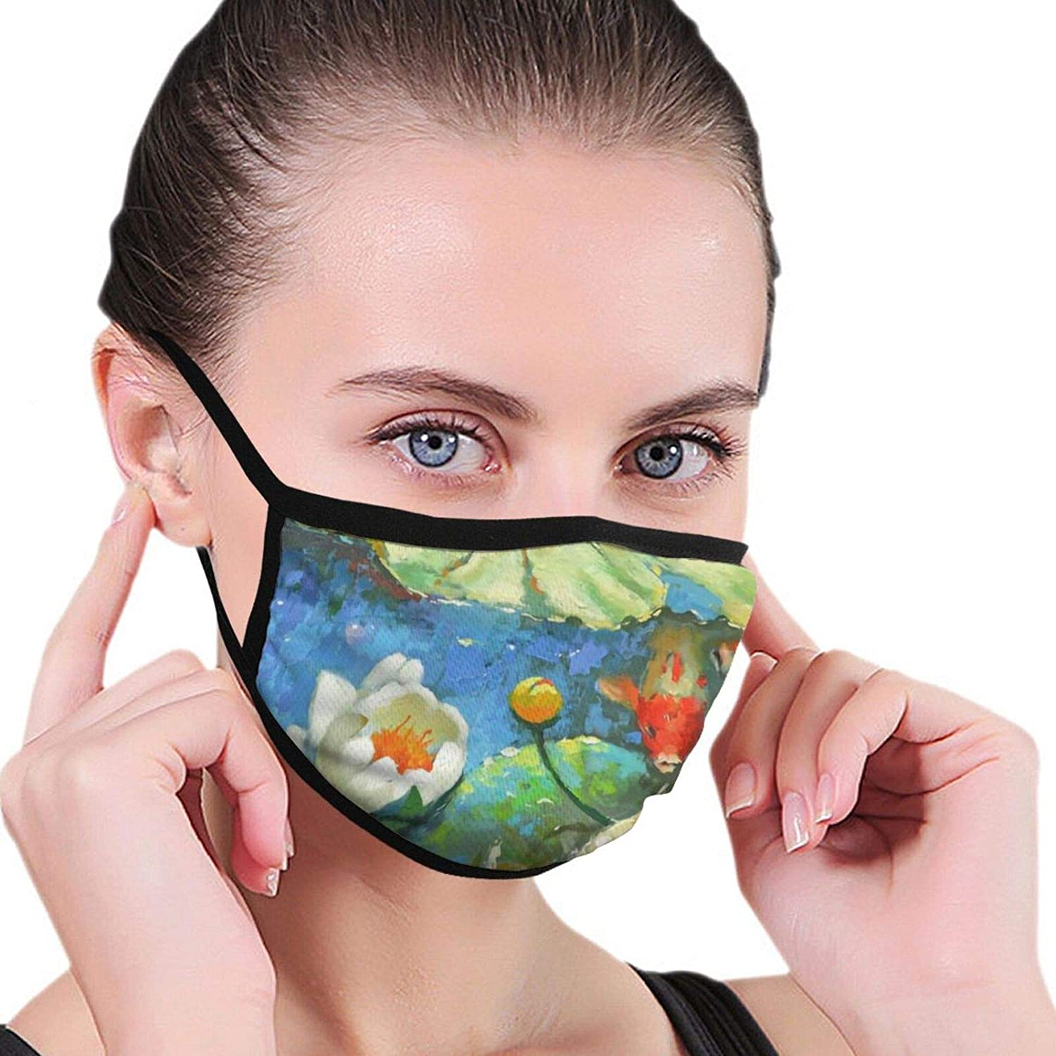 2 Packs Washable Ace of Clover Face Cloth Mouth Protection Unisex Cotton