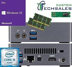 Gigabyte BRIX Ultra Compact Mini PC (Skylake) BSi5-6200 i5 500GB SSD, 32GB RAM, Windows 10 Pro Installed & Configured