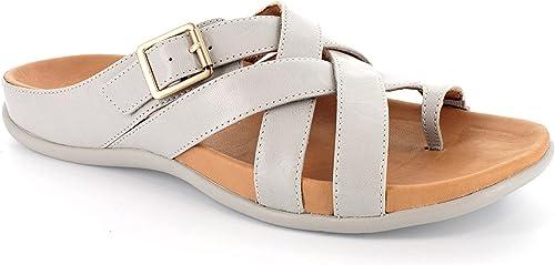 Strive Footwear Sandalias de Vestir de Otra Piel Para mujer, Color gris, Talla 37 1 3
