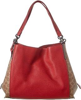 Coach Dalton 31 Ladies Medium Two Tone Leather Casual Daypack 76078 V5P22