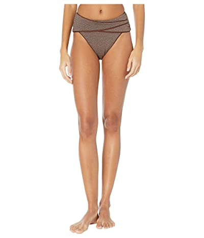 BECCA by Rebecca Virtue Disco Stella High-Waist Bottoms (Bronze) Women