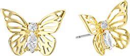 Kate Spade New York - Social Butterfly Stud Earrings
