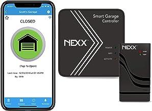 Nexx Smart Wi-Fi Controller NXG-200 - Remotely Control Existing Garage Door Opener with Nexx App, Compatible with Alexa, G...