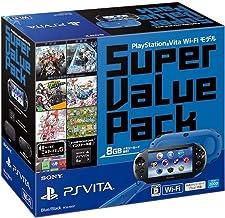 PlayStation Vita Super Value Pack Wi-Fiモデル ブルー/ブラック