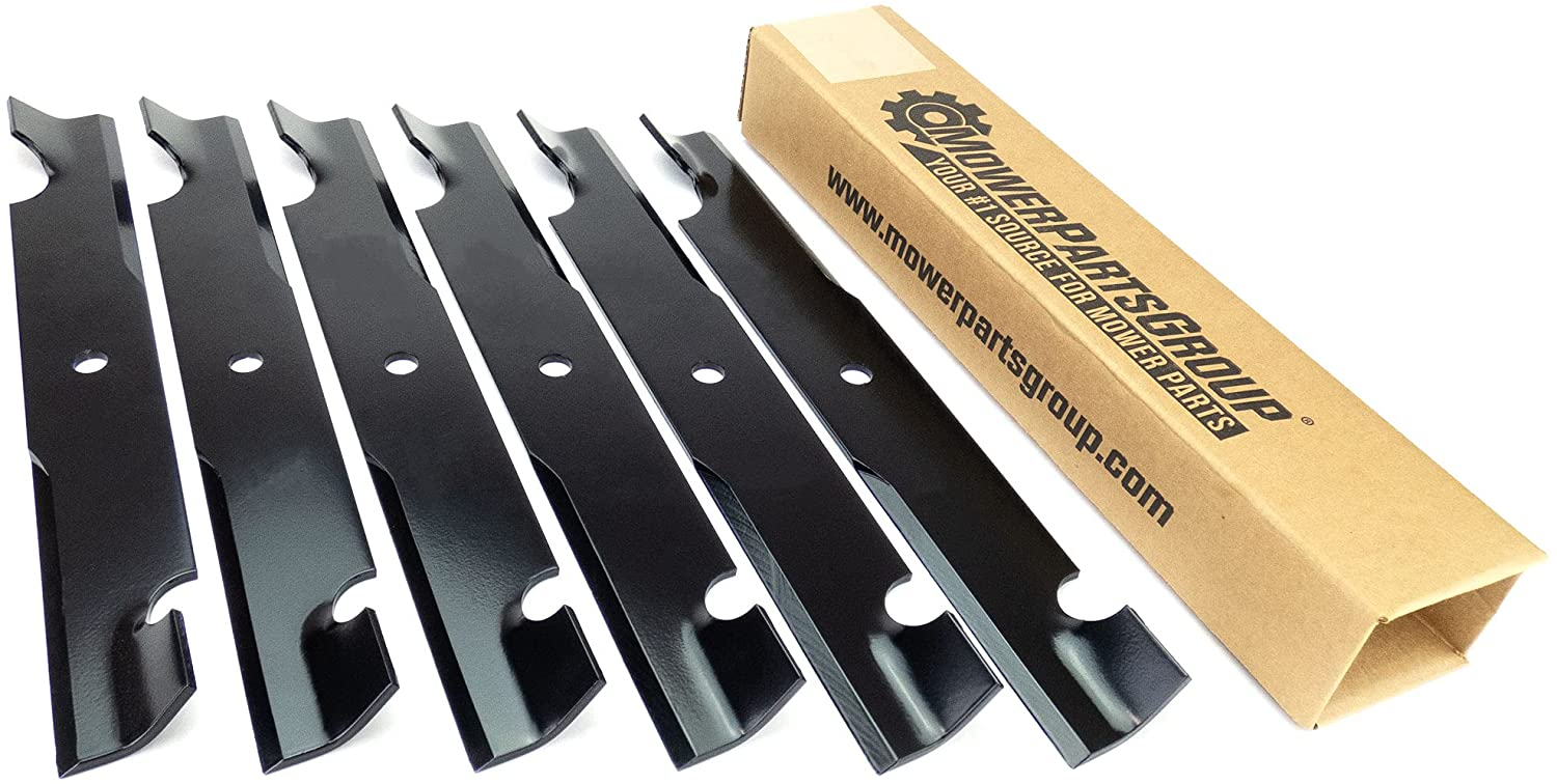 6 Aftermarket Zero Turn Mower Blades Selling Minneapolis Mall Fits Magnum MZ - for 54