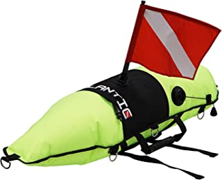 Scuba Choice Diving Spearfishing Torpedo Float with Oral Inflator & Dive Flag