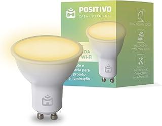 Smart Lâmpada Spot Wi-Fi Positivo Casa Inteligente, 350 Lúmens, RGB, dicroica, LED 4,5W, Bivolt - Compatível com Alexa