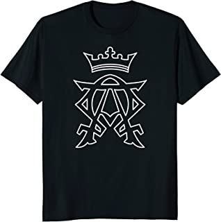 Alpha and Omega Cross Christ Christian Revelation t-shirt