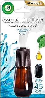 Air Wick Air Freshener Essential Oil Diffuser Refill, Fresh Water Breeze