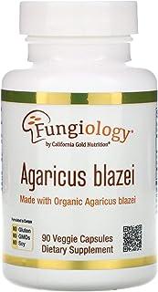 California Gold Nutrition Agaricus Blazei, Full Spectrum, Organic Certified, 90 Veggie Capsules