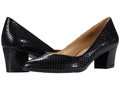 Naturalizer Mali (Black Snake Print Leather) Women