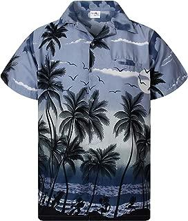 Hawaiian Shirt for Men Funky Casual Button Down Very Loud Shortsleeve Unisex Beach