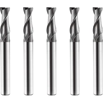 Greenfield Industries Grade High Performance C60554 Corner Radius End Mill List Number CEM-V2-5R