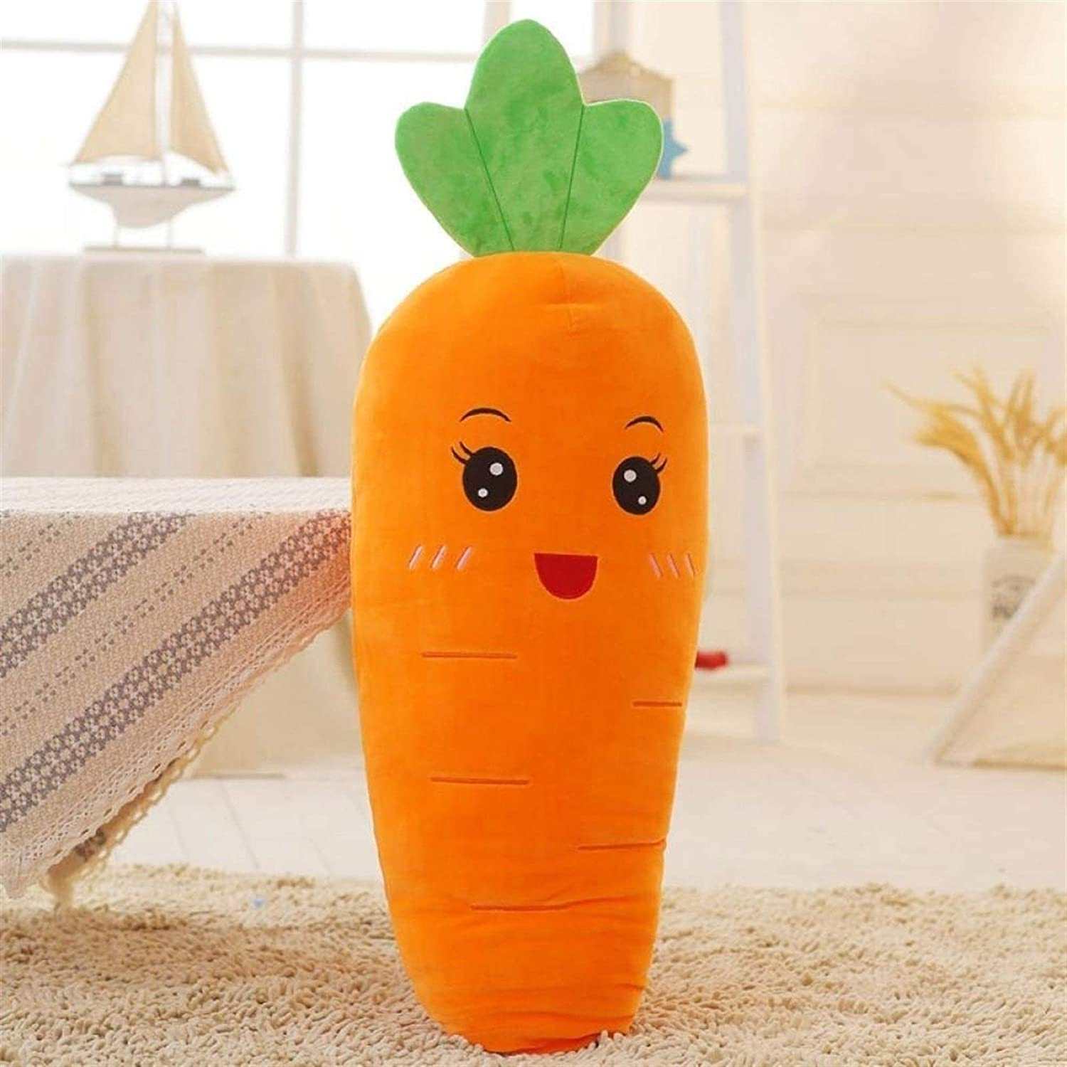 Comfortable and Durable Max 60% OFF Funny Beauty products Cartoon Carrot Si Plush Smiley Toy