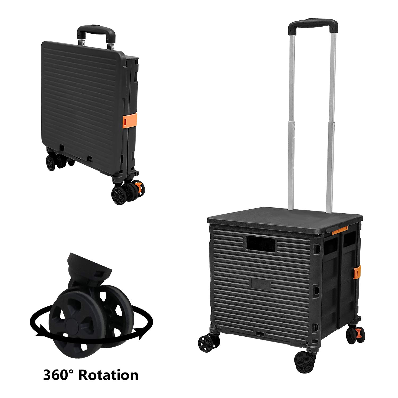 Portable Handcart Telescoping Collapsible Shopping