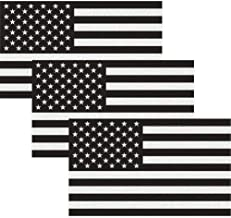 CREATRILL Reflective Subdued American Flag Sticker 3