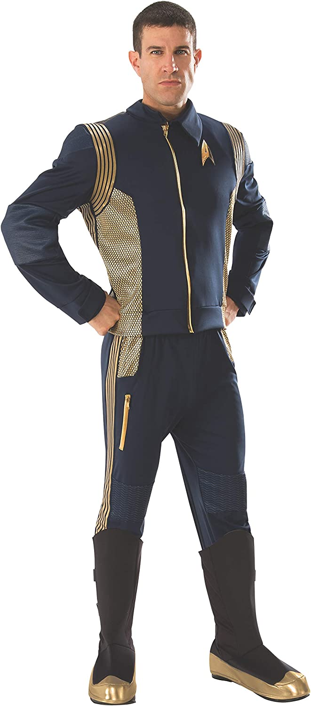 A la venta con descuento del 70%. Estrella Estrella Estrella TREK Discovery Command Uniform Men's Costume - Standard  precios mas bajos