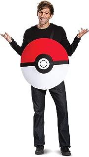 Disguise Unisex Pokeball Classic Adult Costume