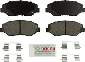 Bosch BE914H Blue Disc Brake Pad Set with Hardware for Select Acura ILX and Honda Accord, Civic, CR-V, Element, and Fit Vehicles - FRONT