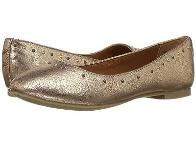 Frye Kids Carson Shimmer (Little Kid/Big Kid) (Rose Gold) Girls Shoes