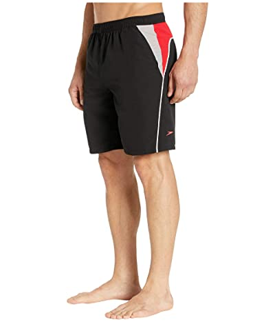 Speedo Cutback Volley (Black/Red/White) Men